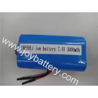 Wholesale 18650 2S 7.4V LG 18650D1 3000mAh rechargeable Li-ion battery pack for light,power system from china suppliers