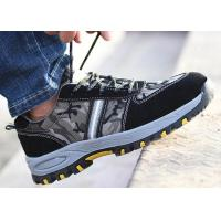 China Customized Lightweight Industrial Safety Shoes Durable Lace Up For Unisex for sale