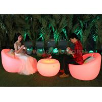 Wholesale Outdoor Plastic Glowing Led Chairs Leisure Bar Chair Bar Stool With Table from china suppliers