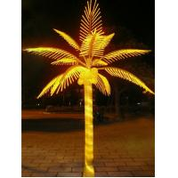 Wholesale led artificial decorative outdoor lighted palm tree from china suppliers