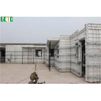 Wholesale OEM Lightweight  Concrete  Aluminum  Formwork For Pouring In one time from china suppliers