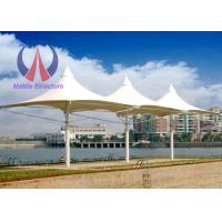 Wholesale Permanent Umbrella Shade Structures Windproof Beach Sun Umbrella 6.5m Height from china suppliers