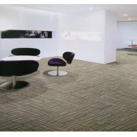 China 100 Nylon Striped Modern Home Carpet , Contemporary Wall To Wall Carpet on sale
