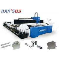 Buy cheap 1KW 2KW 3KW Steel Pipe Cutting Machine Metal Sheet & Tube Laser Laser Cutter from wholesalers