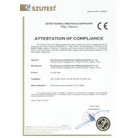 WUXI ZHOUXIANG COMPLETE SET OF WELDING EQUIPMENT CO.,LTD Certifications