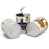 Wholesale Recyclable Air-tightened Water-proof Cylindrical Paper Composite Cans for Baby Milk Powder / Coffee / Pet Food from china suppliers