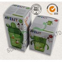Wholesale Milk Bottle Colored Corrugated Packaging Boxes , Custom Sized Cardboard Boxes from china suppliers