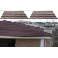 Wholesale Colorful Environmental Shingle Lightweight Metal Roof Tiles For resort Masion from china suppliers
