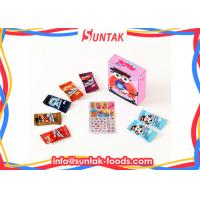 Wholesale Mini Circle Shape Independent Bagged Sour Sweets Candy In Paper Box from china suppliers