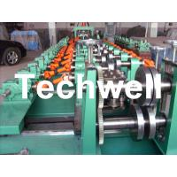 Wholesale Auto Size Changeable C Z Shaped Purlin Roll Forming Machine With Gimbal Gearbox Drive from china suppliers