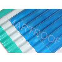 Wholesale Electroplating Factory FRP Roofing Sheets , Corrugated Plastic Roof Panels from china suppliers