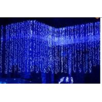 Wholesale Led Light, 6M*3M,Curtain light,800LED, cool white, red, blue, CE, EU plug,can customize from china suppliers