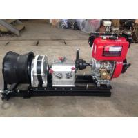 Wholesale 5 Ton Diesel Engine Powered Winch Wire Rope Winch For Fast Speed from china suppliers