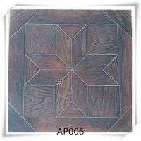 Wholesale Oak parquet flooring , UV lacquer,Brushed, smoked, 15/4*600*600mm from china suppliers
