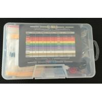 Wholesale Electronics Solderless Breadboard Kit with 400 Point Breadboard / LED / Resistor from china suppliers