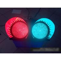 Wholesale 2 Color Solar Powered Traffic Signs Red Green Flashing Signal Light from china suppliers