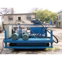 Wholesale XPL-20A Crawler drilling Rig For Anchoring apply singe pipe, duplex pipe, triple pipe tools from china suppliers