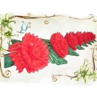 Quality Hot Wedding Flower, Inflatable Flower String for Stage and Wedding Decoration for sale