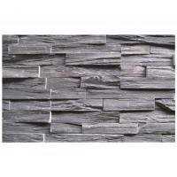 Buy cheap Chinese Black Slate Zclad Stone Panel,Charcoal Slate Stone Cladding,Carbon Black Slate Stacked Stone,Slate Culture Stone from wholesalers