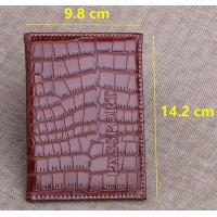 Quality Alligator Pattern PU Travel Passport Holder for sale