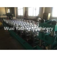 Wholesale 8 -15m / Min Working Speed Roof Panel Glazed Tile Roll Forming Machine With Auto Decoil from china suppliers