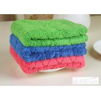 Custom Logo Various Colored Microfiber Car Cleaning Cloth Eco - Friendly 40*50cm