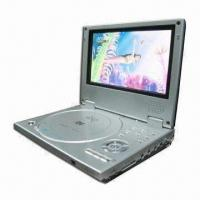 Wholesale 7-inch Portable DVD Player with Parental Lock, USB and Card Reader from china suppliers