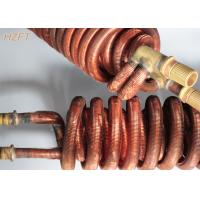 Wholesale Copper or Copper Nickel Fin Coil Heat Exchanger / Finned Tube Coils from china suppliers