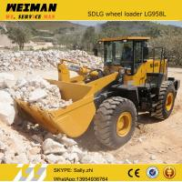 Wholesale brand new SDLG front bucket loader LG958L with rock bucket 2.0m3 , china construction machinery from chinese supplier from china suppliers