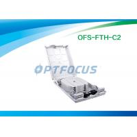 Wholesale Waterproof FTTH Mini Optical Fiber Termination Box 12 Outlet Pigtail from china suppliers