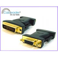 Wholesale Cableader Digital Life High Performance DVI-D 24+1 pin Male to VGA 15 pin Female from china suppliers