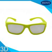 Wholesale Expendable Cinema 3D Glasses Passive Circular Polarized Eyewear from china suppliers