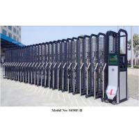 Wholesale Retractable Aluminium Automatic Entrance Gates With Mesh Up To 2.5m Height from china suppliers