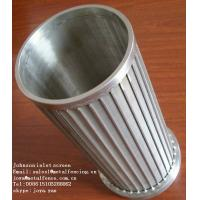 "Wholesale 2"" 40"" V wire welded Johnson screen well for oil,water filtertion from china suppliers"