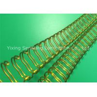 """Wholesale Wall Calendar Gold Double O Wire Binding Size 7/16 """" 360 Turning Over from china suppliers"""