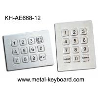 Wholesale 12 Keys Sealed Numeric Keypad , Water Proof Rugged Keypad In 3x4 Matrix from china suppliers