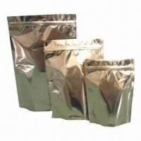Wholesale Stand Up Aluminum Foil Bags, Moisture Barrier/Low Temperature Resistance/Available in Various Colors from china suppliers