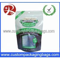Wholesale Plastic Ziplock Stand Up Pouches Packaging For Biscuits / Cookies from china suppliers
