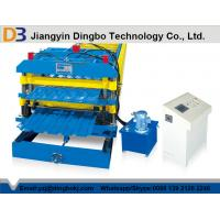 Wholesale High Grade Metal Cold Rolled Glazed Steel Tile Forming Machine With Custom Galvanized from china suppliers