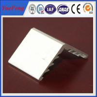 Wholesale 6063 aluminium angle extrusion profiles for solar panel frame from china suppliers