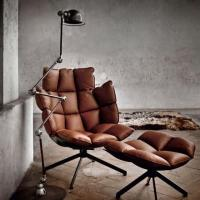 Beech wood frame single pu leather leisure chair munich chair with backrest of item 107709547 - Husk chair replica ...