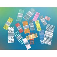 Wholesale PE Dispensing Plastic Packaging Bags Zip / Sealed For Medical Packaging from china suppliers