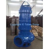 Wholesale Large Submersible sewage pump from china suppliers