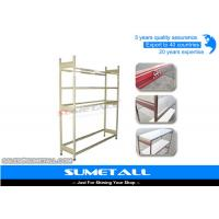 Wholesale Metal Multipurpose Long Span Shelving With Wire Decking / Chipboard Shelf from china suppliers