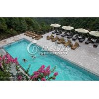 Wholesale Summer Entertainment modern swimming pool design and Project for Family Water fun from china suppliers