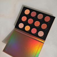 China Quick Sand series fashion beautiful 12 Color 12g Eye Shadow Palette on sale
