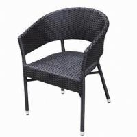 Wholesale Wicker Chair/Outdoor/Garden/Restaurant/Rattan Furniture with Aluminum Tube,UV Resistant from china suppliers