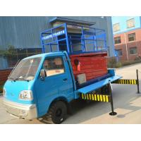 Wholesale 3.5km/h Walking speed Truck-Mounted Scissor Lift  with 6 - 12 m Lifting Height from china suppliers