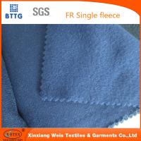 Wholesale 16 CFR 1610 100% cotton durable flame retardant flannel FR fleece fabric   Flame retardant from china suppliers