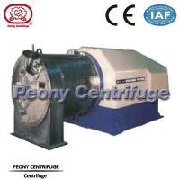 Wholesale Two - Stage Pusher Centrifuge model PP / Perforated Basket Centrifuges for Salt Dewatering from china suppliers